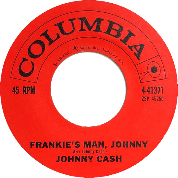Johnny Cash - Frankie's Man, Johnny single