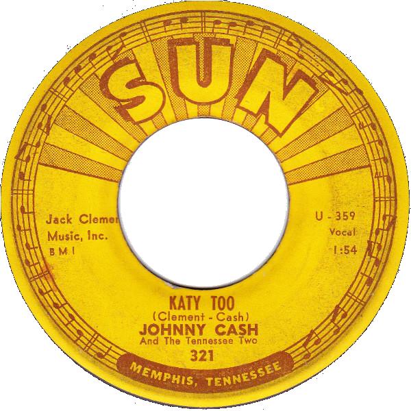 Johnny Cash - Katy Too single