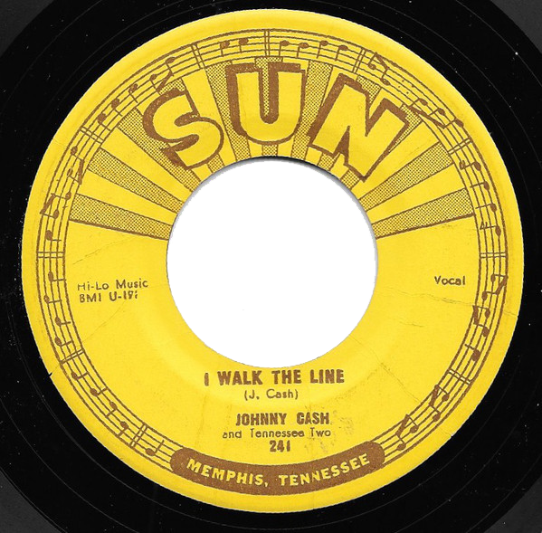 Johnny Cash - I Walk The Line single