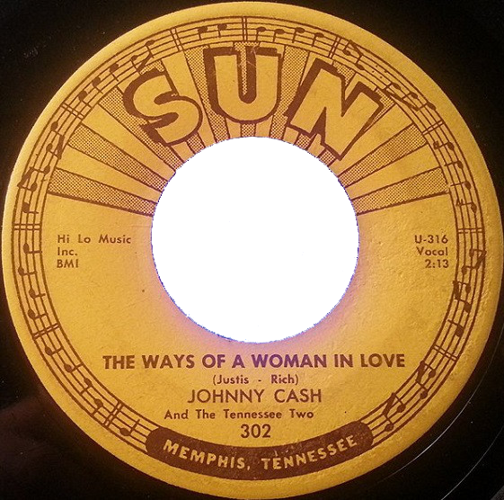Johnny Cash - The Ways Of A Woman In Love single