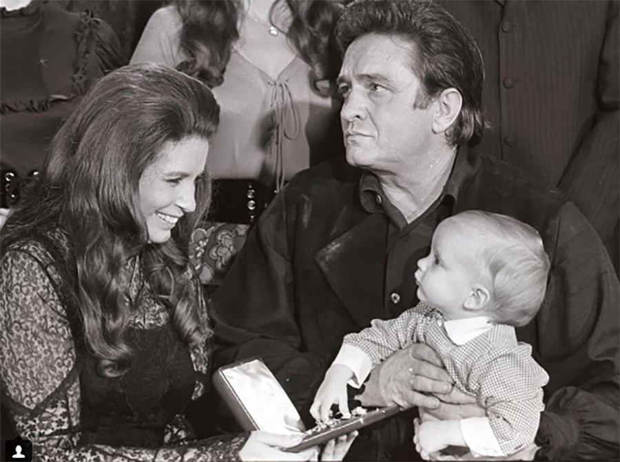 #WayBackWednesday: Johnny, June & John Carter Cash
