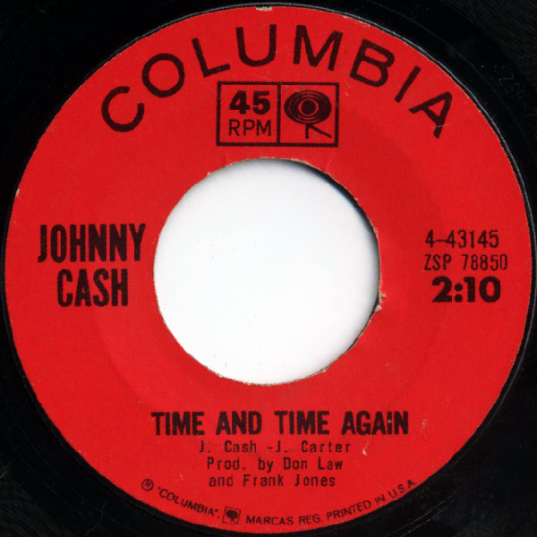 Johnny Cash - Time and Time Again B-side
