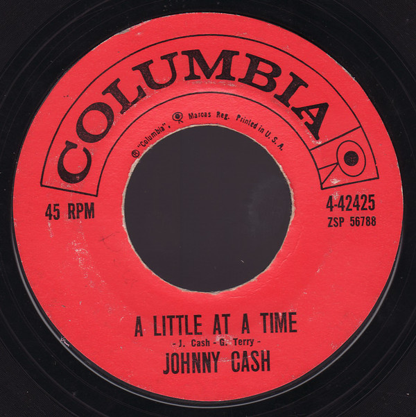 Johnny Cash - A Little At A Time B-side