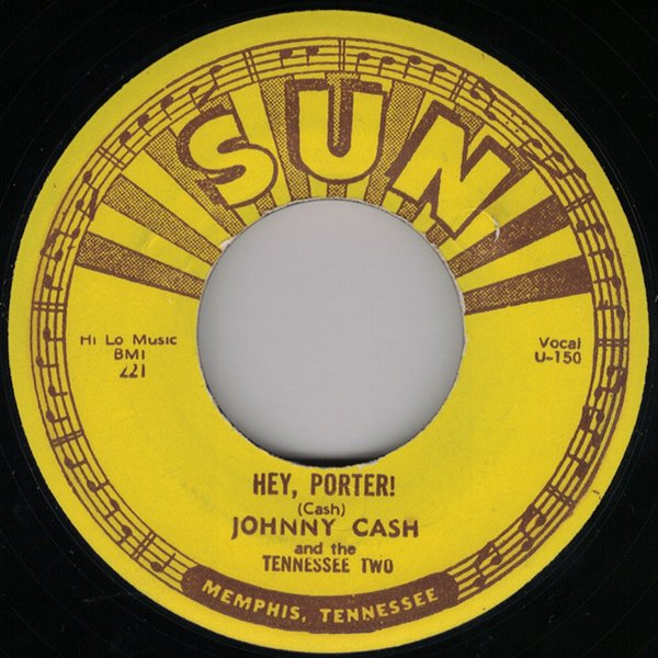 Johnny Cash - Hey, Porter single