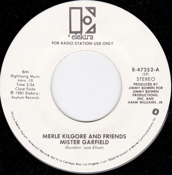 Merle Kilgore and Friends - Mister Garfield single
