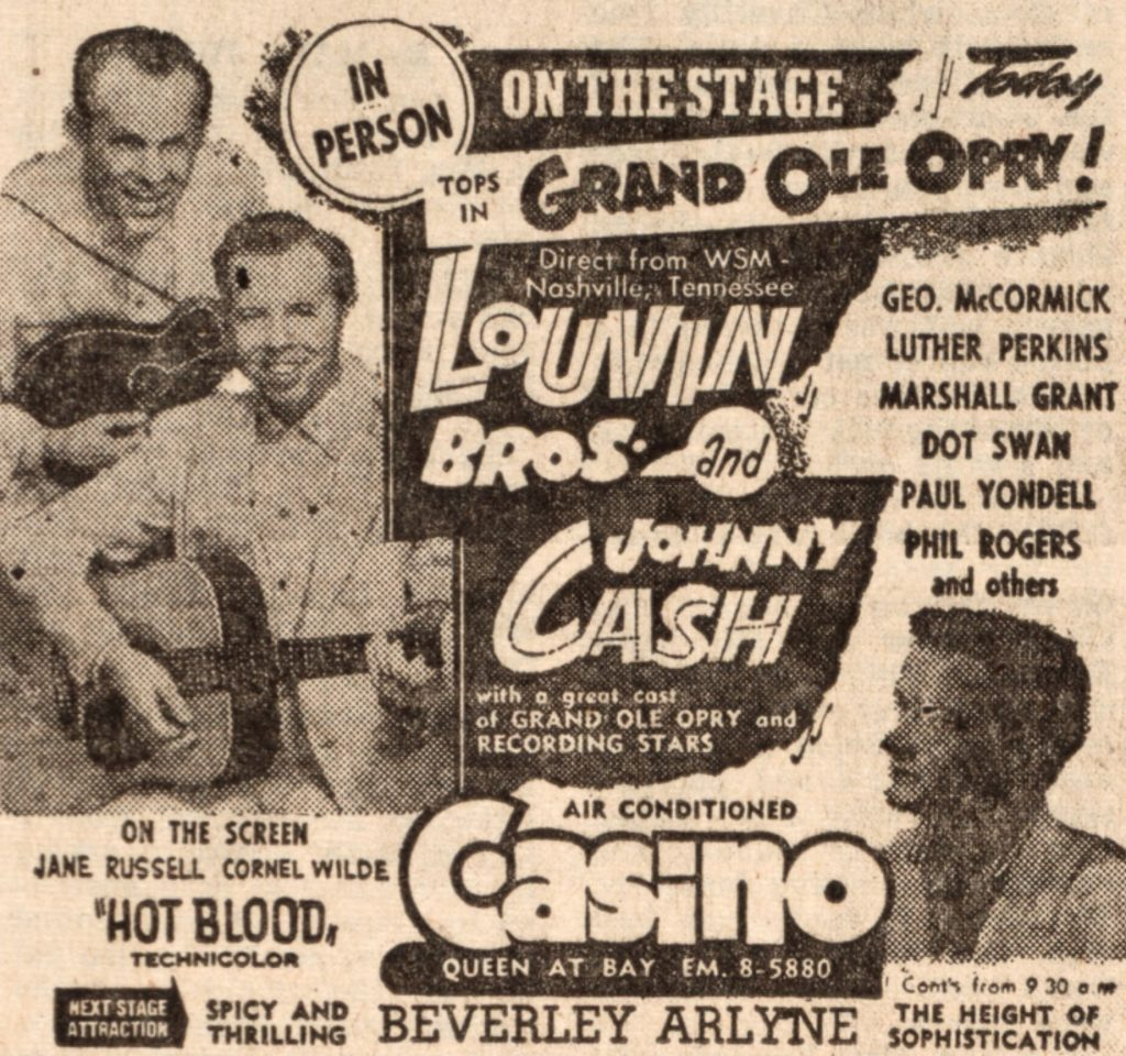 Johnny Cash In Concert 1956-08-19 thumbnail