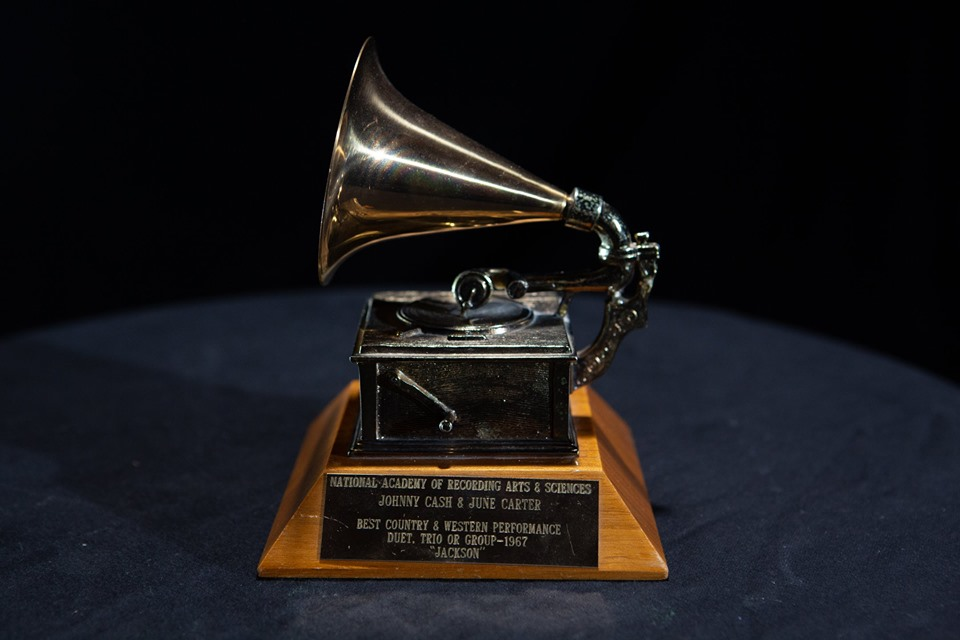 Johnny Cash & June Carter 1967 GRAMMY Award for Jackson Best Country & Western Performance, Duet, Trio Or Group