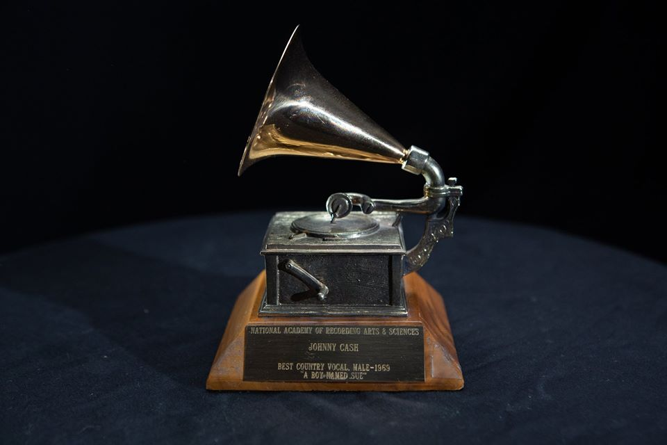 Johnny Cash GRAMMY Award for Best Country Vocal Performance, Male for A Boy Named Sue