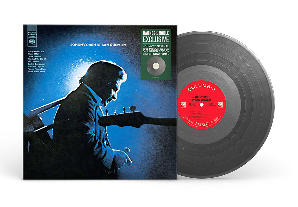 Johnny Cash 'At San Quentin' Exclusive Silver Gray Edition thumbnail