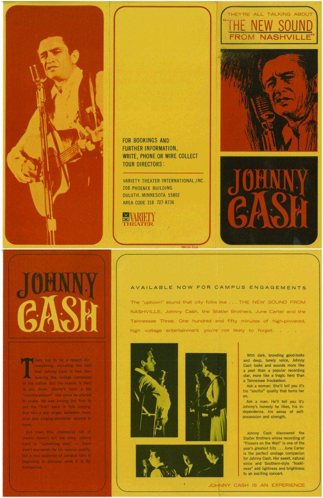 Johnny Cash- Duluth, MN 1966