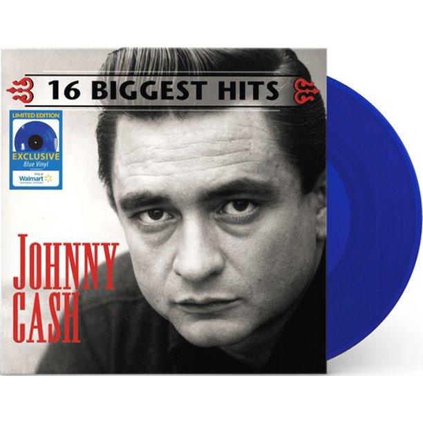 Johnny Cash's '16 Biggest Hits' Available On Blue Vinyl thumbnail