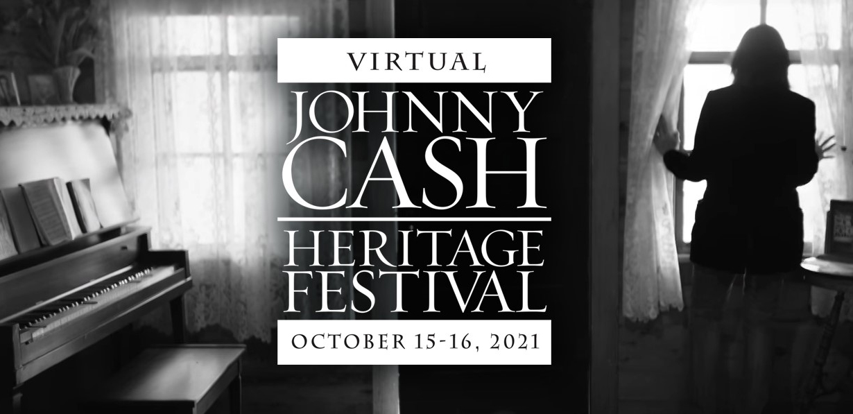 Virtual Johnny Cash Heritage Festival October 15-16, 2021
