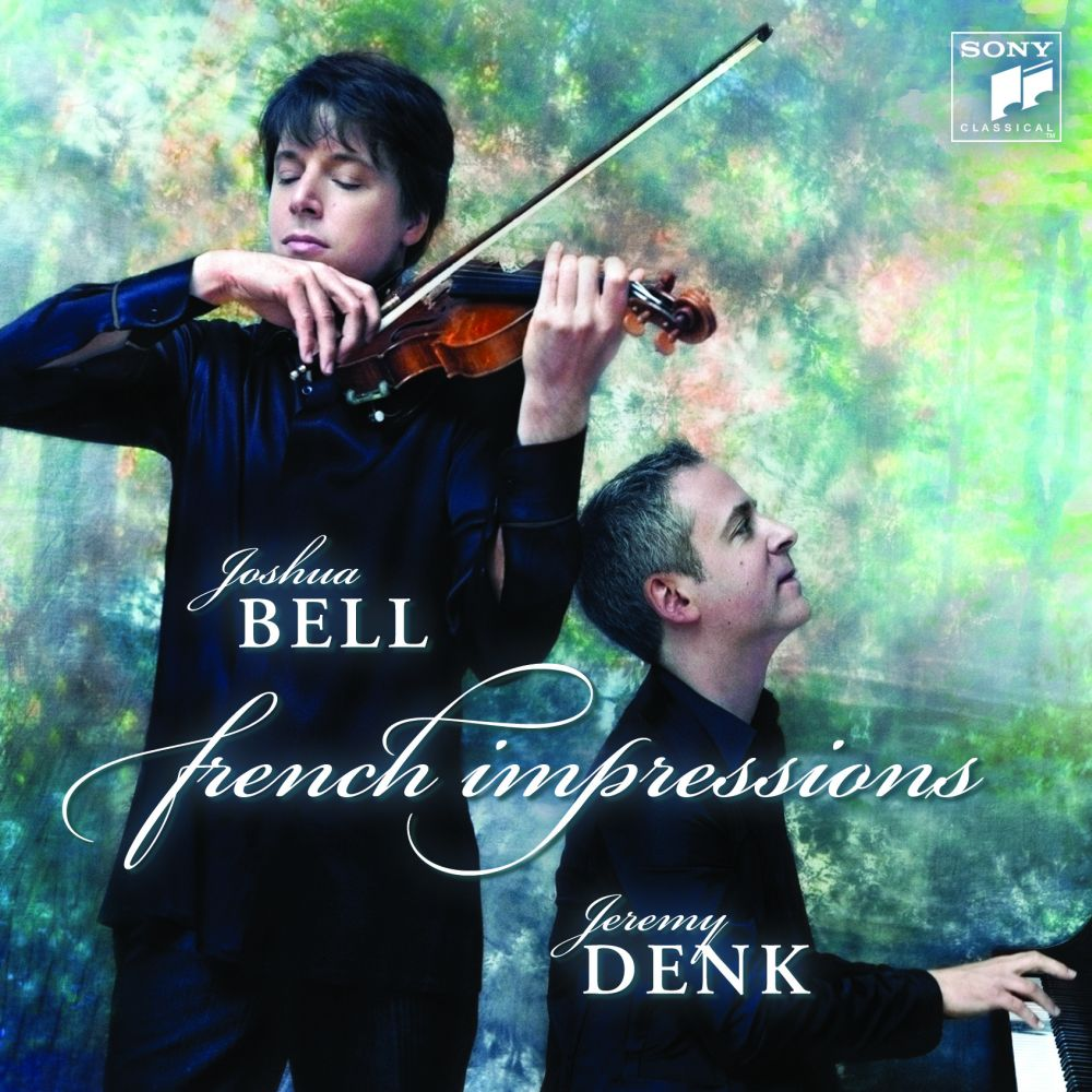 Joshua Bell and Jeremy Denk recording session for Sony Music