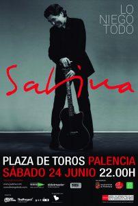 Nuevo concierto de Joaquín Sabina en Palencia