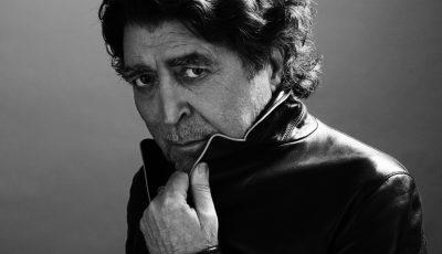 Imagen del cantautor español Joaquín Sabina