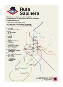 """Joaquín Sabina estrena su nuevo disco """"Lo niego todo"""" en el Metro de Madrid"""