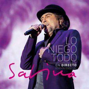 """Ya disponible """"Lo niego todo en directo"""" de Joaquín Sabina"""