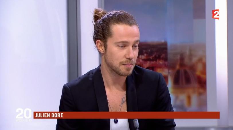Julien invité du JT de France 2