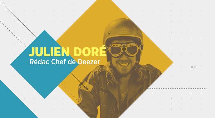 Julien Doré rédac' chef de Deezer !