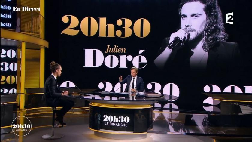 «20h30 le dimanche» avec Julien Doré