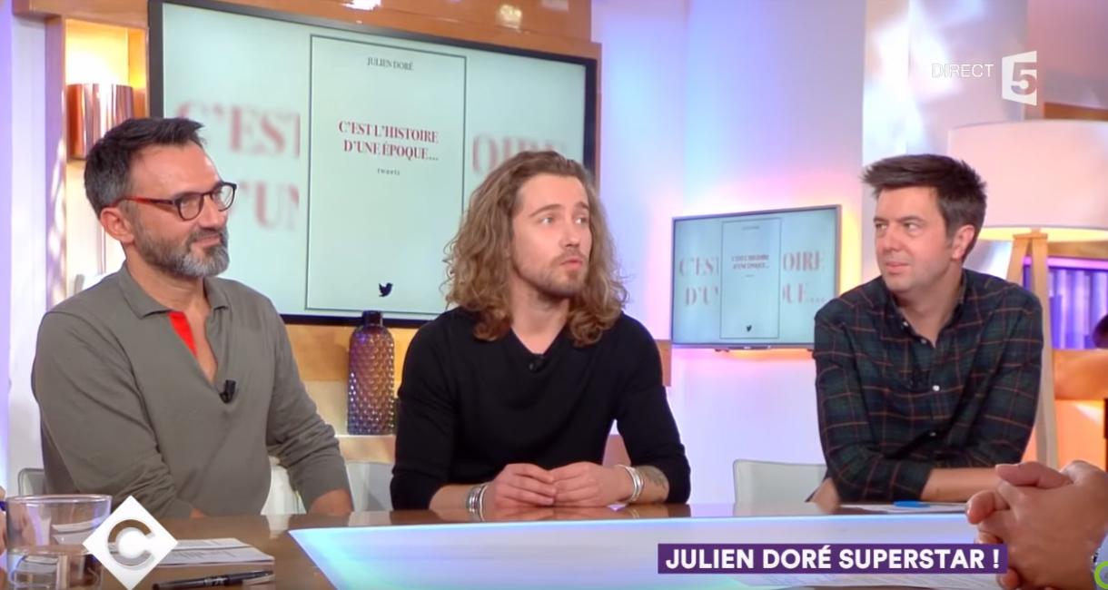Julien Doré invité de C A Vous