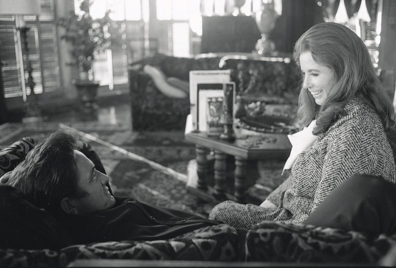 Johnny Cash and June Carter Cash at home. Photo from 'House of Cash' by John Carter Cash.