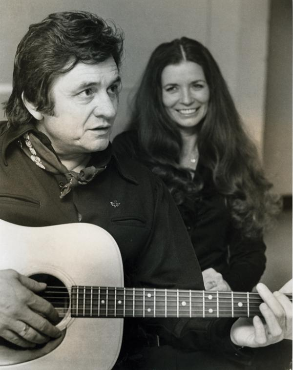 Johnny Cash and June Carter Cash. Photo from 'House of Cash' by John Carter Cash.