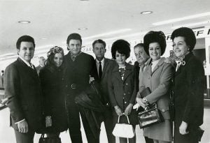 Tommy Cash, June Carter Cash, Johnny, Roy, Joanne, their father Ray Cash, Reba and Louise