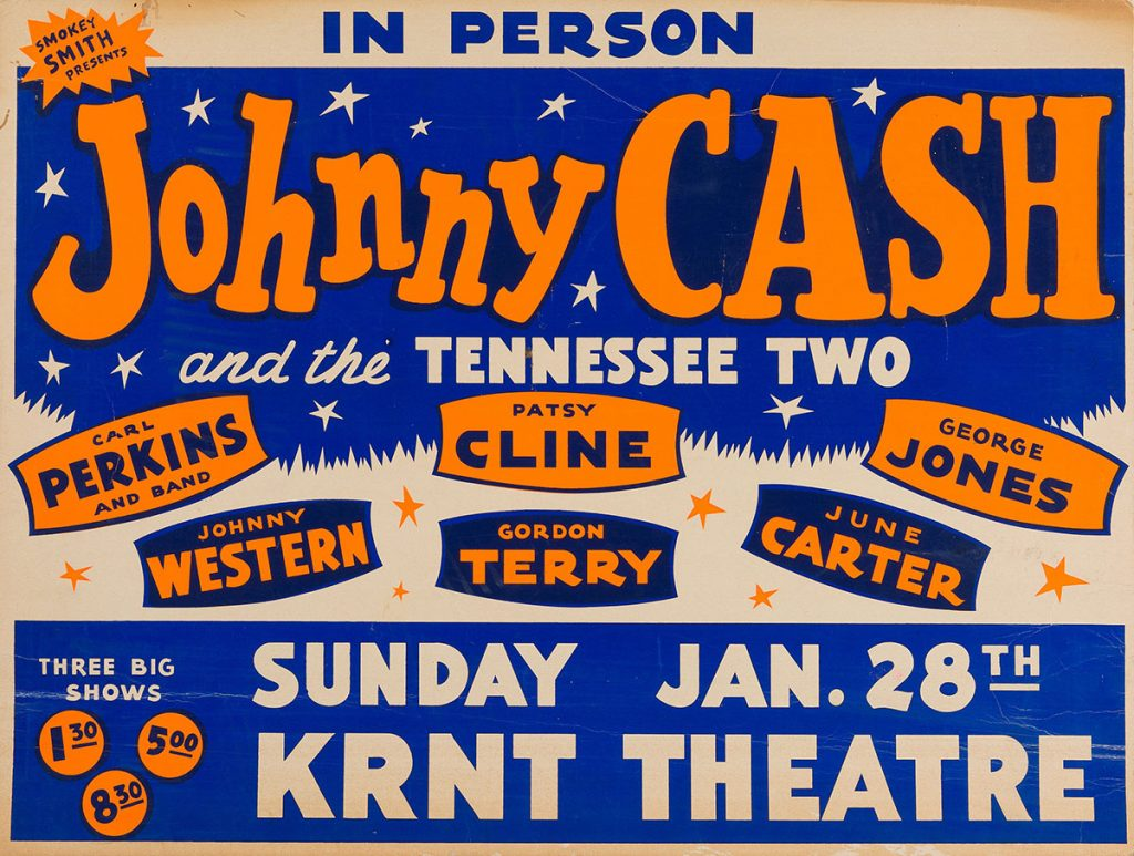 June Carter joins Johnny Cash tour January 28, 1962