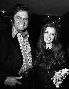 Johnny Cash and June Carter Cash in 1970