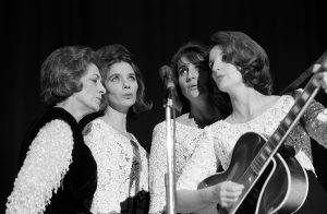The Carter Family performs at a CBS convention in October 1965