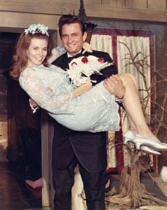 June Carter marries Johnny Cash on March 1, 1968