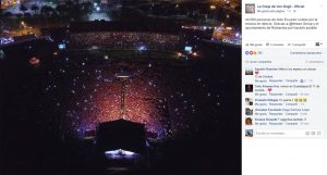 LODVG tocan ante 40 mil personas en Ecuador