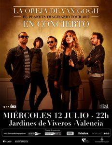 Nuevo concierto de La Oreja de Van Gogh en Valencia