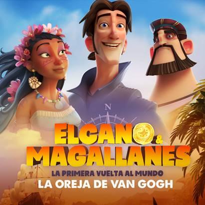 """""""Confía en el viento,"""" el tema principal de la película de animación """"Elcano y Magallanes, la primera vuelta al mundo"""""""