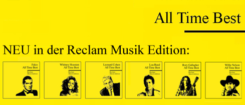 All Time Bes: Reclam Musik Edition