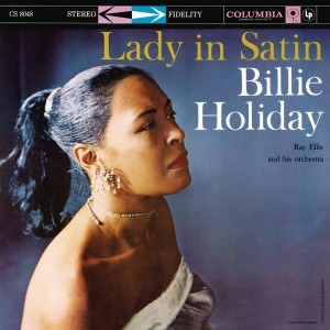 Billie Holiday Lady in Satin Vinyl