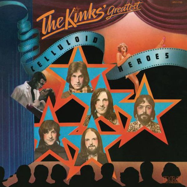 The Kinks Cover Celluloid Heroes Legacy Club