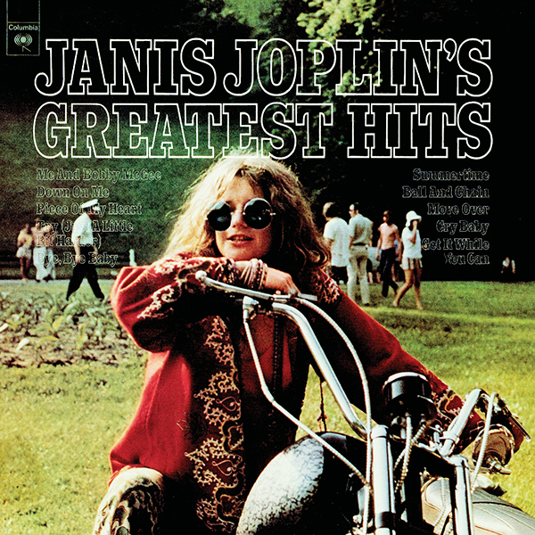 Janis Joplin Albumcover Greatest Hits Legacy Club