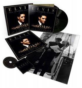 Elvis If I Can Dream Deluxe packshot exploding