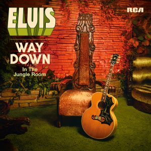 ELVIS – WAY DOWN IN THE JUNGLE ROOM COVER ARTWORK