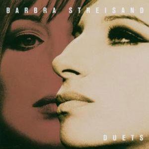Barbra Streisand Duets Album Cover