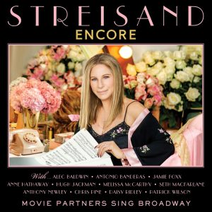 Barbra Streisand Encore Album Cover