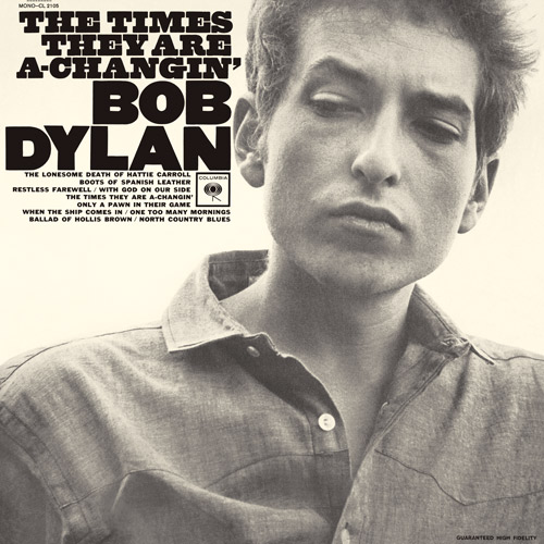 Bob Dylan The Times They Are A Changin Cover