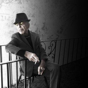Leonard Cohen Presse Photo