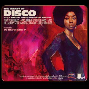 The Legacy Of Disco Vinyl Cover