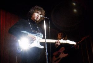 Bob Dylan on stage