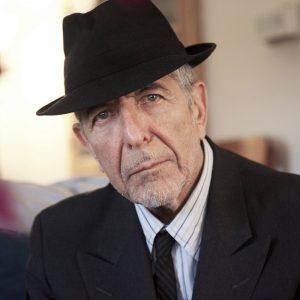 Leonard Cohen mit Hut