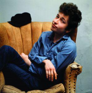 Bob Dylan Sitting