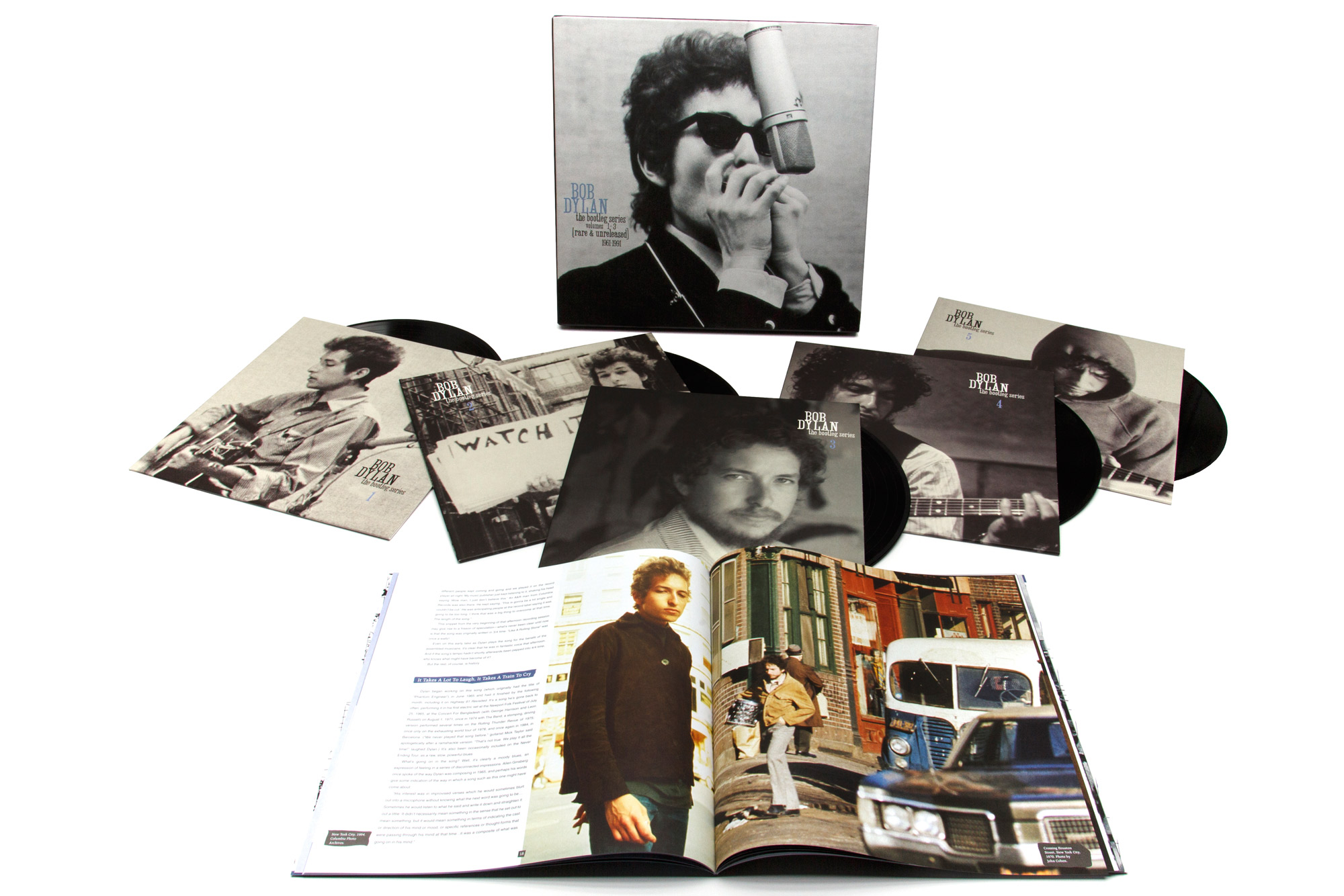 Bob Dylan Packshot Bootleg Vinyl